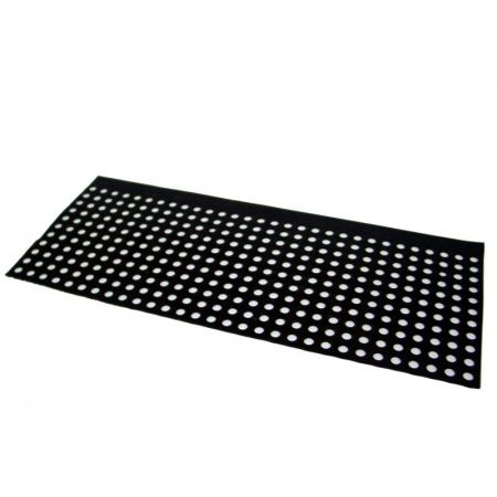 lg6040 hole rubber mats 5 units