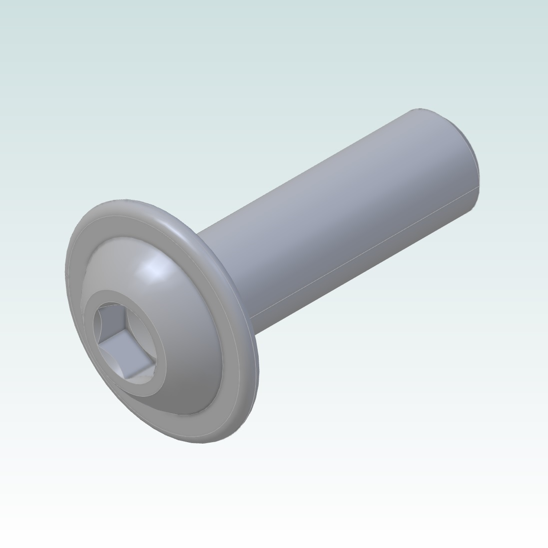 m6x20 bolt iso 73802 with flange