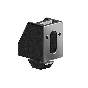 maytec panel holder block for eslot profile group 40 m6