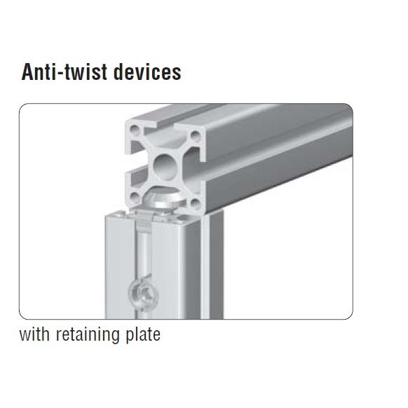 maytec universal verbinder antitwist plate