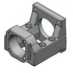 NEMA 34 Motor Bracket (MBA20-F) for FKA20