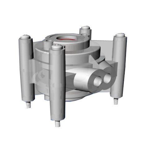 peristaltic stepper pumps pp 200 flange type
