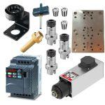 QTC C41/47-C-DB-2.2kW + VFD for Router Kit