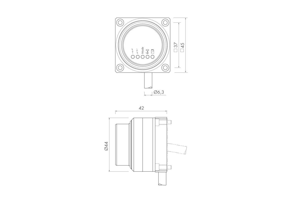 radio receiver set rc66 interface if59 mounting bracket