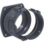 SILVYN® AFG-PA 70 BK Straight Connector Ø66,5xØ79,2mm Black