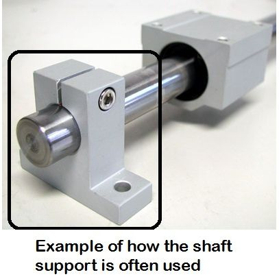 sk16 shaft supports 16mm