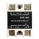 Solid State Relay with LED Single Phase SSR-40A