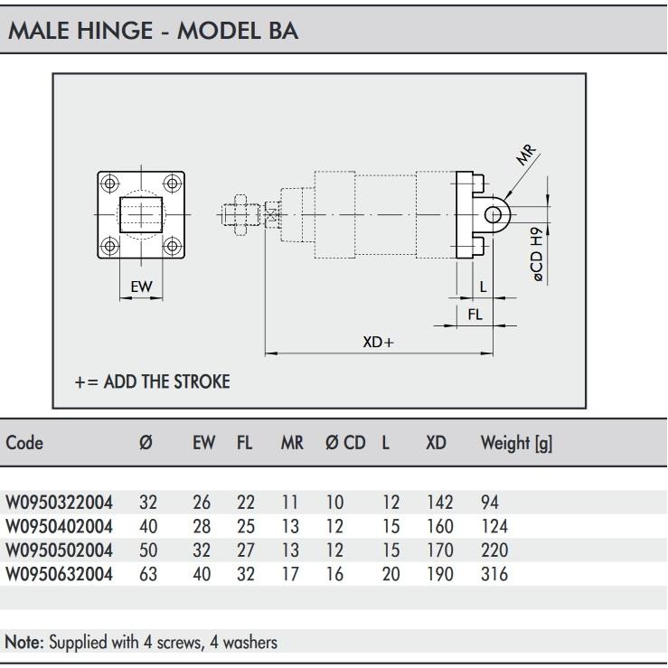 w0950322004 hinge model ba 032 iso