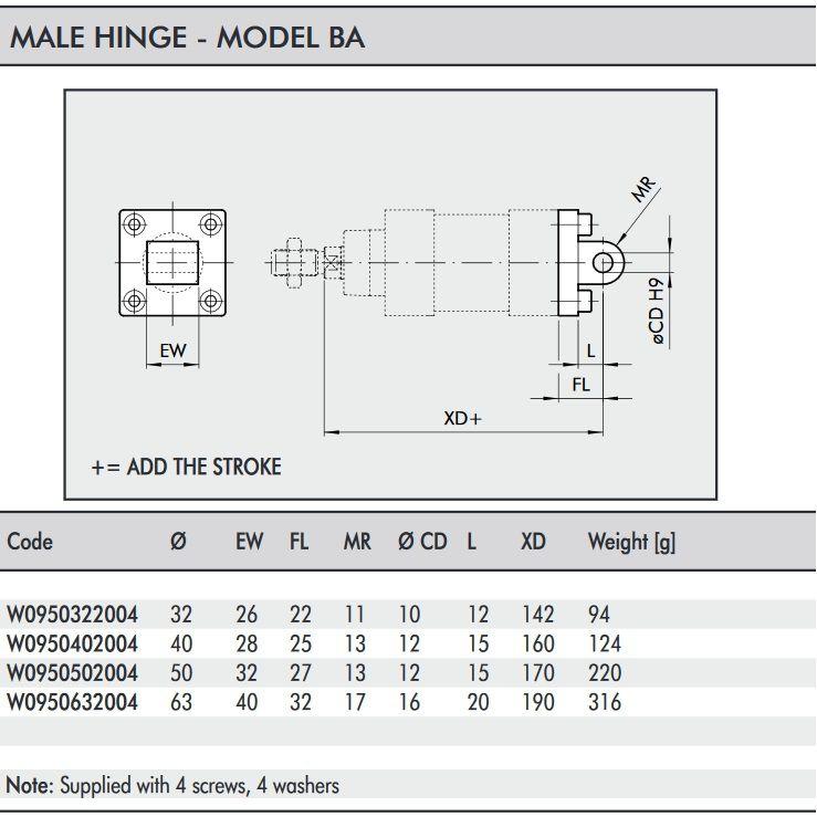 w0950632004 hinge model ba 063 iso