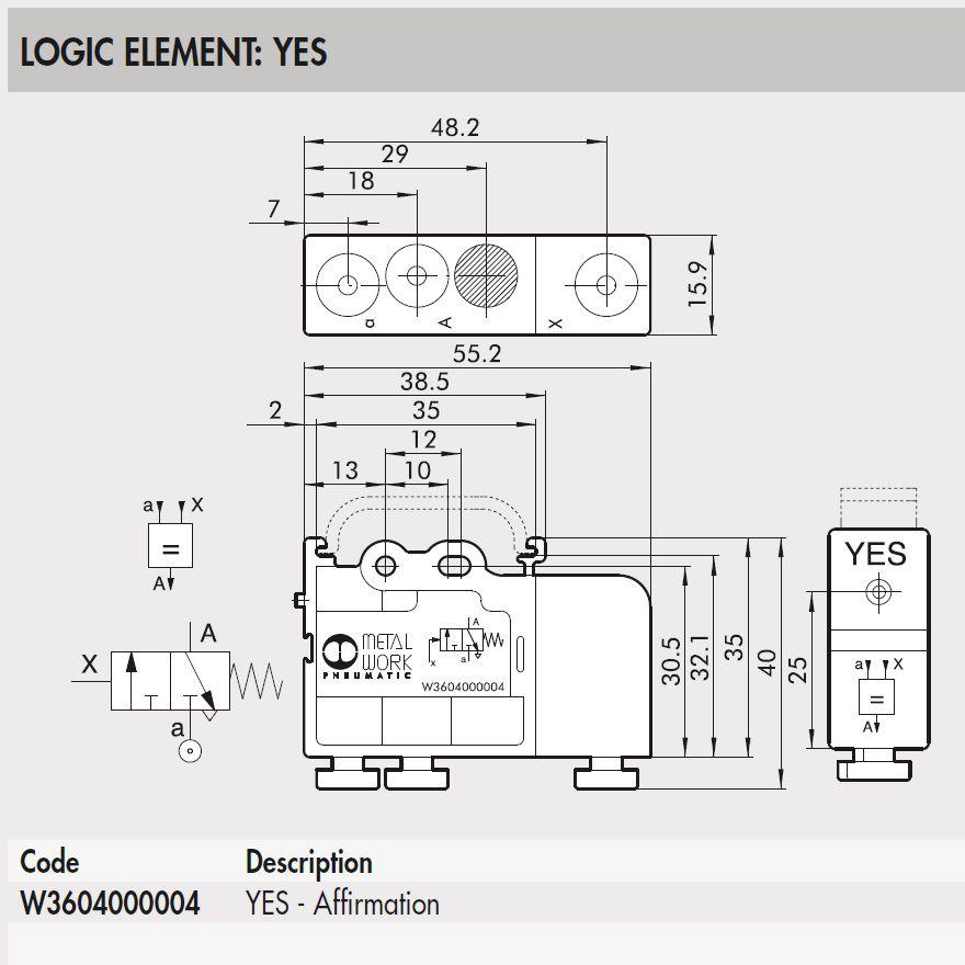 w3604000004 yes logic element