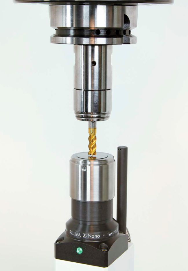 znano toolsetter including cable cleaning nozzle